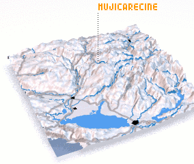 3d view of Mujića Rečine