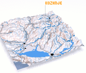 3d view of Kozhnje