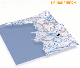 3d view of (( Lekaj i Sipërm ))