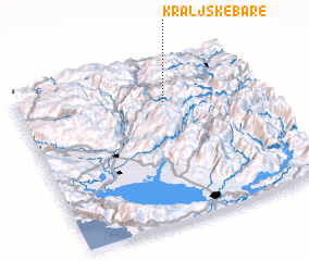 3d view of Kraljske Bare