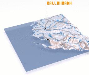 3d view of Kallmi i Madh