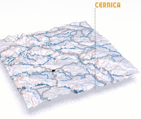 3d view of Cernica