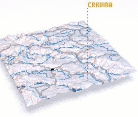 3d view of (( Crkvina ))