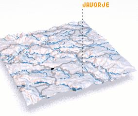 3d view of Javorje