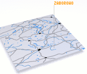 3d view of Zaborowo