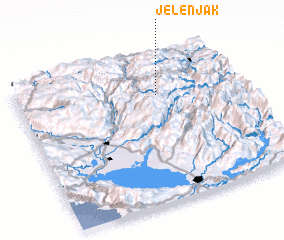 3d view of Jelenjak