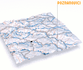 3d view of Poznanovići