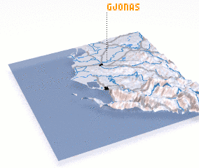 3d view of Gjonas