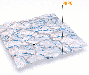 3d view of Pape