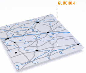 3d view of Głuchów