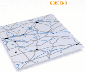 3d view of Gorzewo