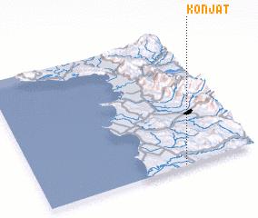 3d view of Konjat
