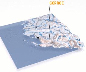 3d view of Gërnec