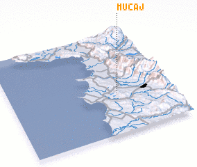 3d view of Muçaj