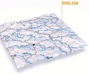 3d view of Podlisa