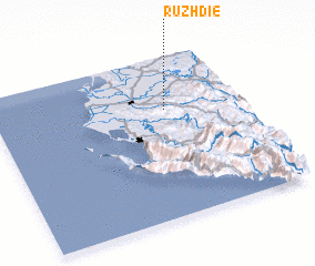 3d view of Ruzhdie