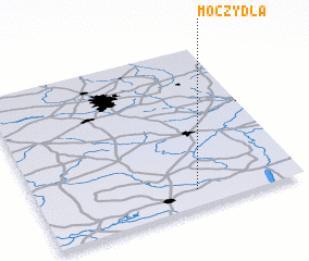 3d view of Moczydła