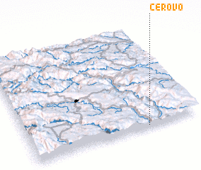 3d view of Cerovo