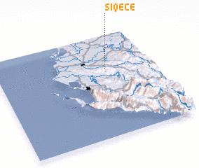 3d view of Siqecë