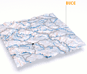 3d view of Buče