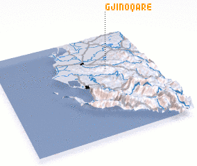 3d view of Gjinoqarë