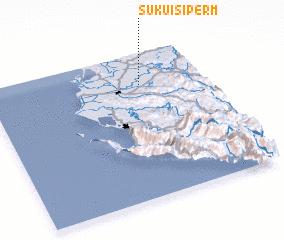 3d view of Suku i Sipërm