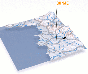 3d view of Domje