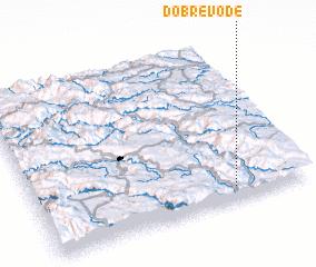 3d view of Dobre Vode