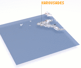 3d view of Karousádes