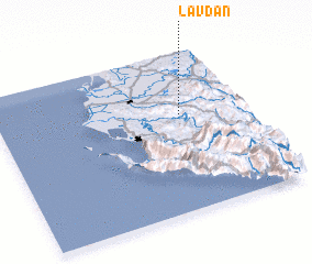 3d view of Lavdan