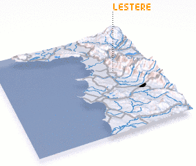 3d view of Lesterë