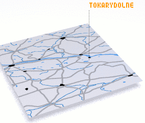 3d view of Tokary Dolne