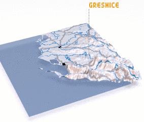 3d view of Greshicë
