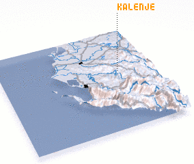 3d view of Kalenjë