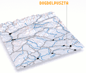 3d view of Dugdelpuszta