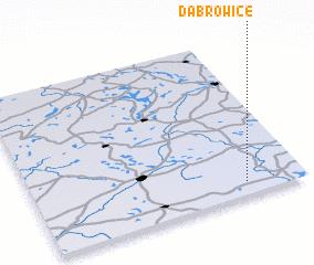 3d view of Dąbrowice