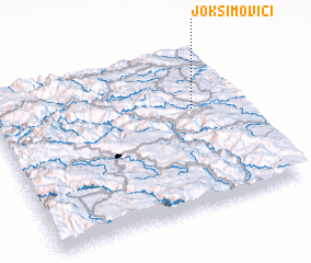 3d view of Joksimovići