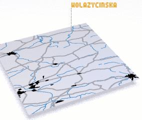 3d view of Wola Życińska