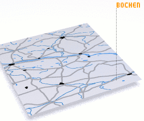 3d view of Bocheń