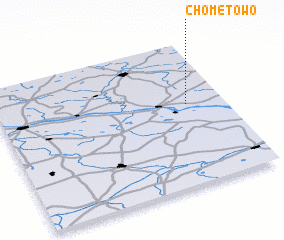3d view of Chomętowo