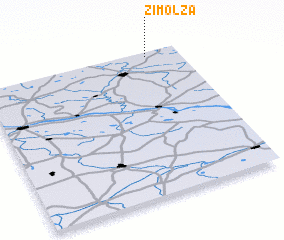 3d view of Zimolza