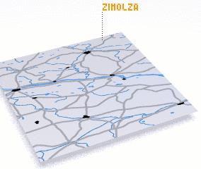 3d view of Zimolza