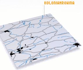 3d view of Kolonia Mrowina