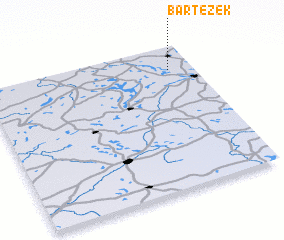 3d view of Bartężek