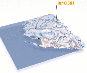 3d view of Kamçisht