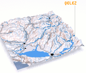 3d view of Qelëz