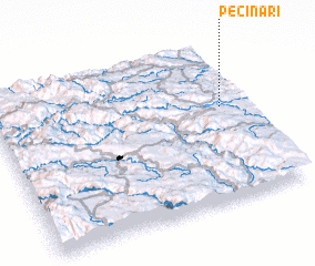 3d view of Pećinari