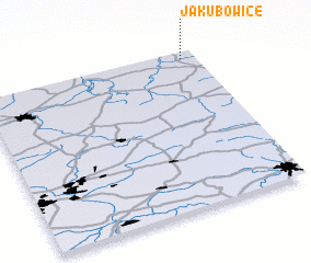 3d view of Jakubowice