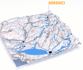 3d view of Durovići