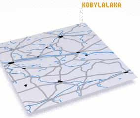 3d view of Kobylałąka
